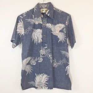 Vintage Cooke Street Popover Hawaiian shirt M